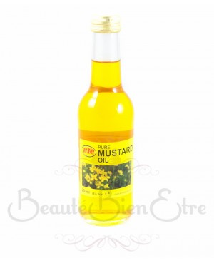 HUILE VEGETALE DE MOUTARDE KTC 250 ML