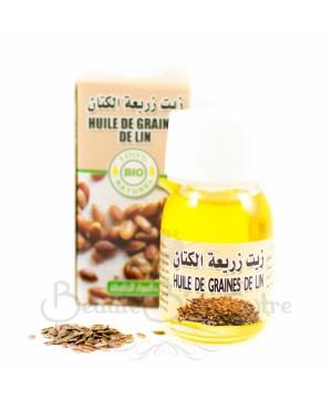 acheter de l 39 huile de lin bio et 100 naturelle du maroc pour le soin des cheveux secs et. Black Bedroom Furniture Sets. Home Design Ideas