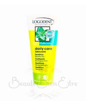 DENTIFRICE A LA MENTHE DAILY CARE BIO LOGONA 75 ML