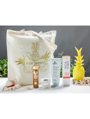SUMMER ESSENTIALS KIT BY BBE: 4 INDISPENSABLES BEAUTE AU NATUREL DONT 1 OFFERT + UN SUMMER BAG