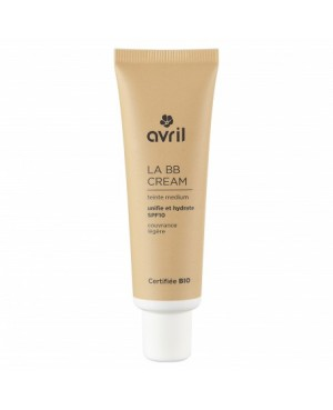 BB CREAM MEDIUM A L'HUILE VEGETALE DE JOJOBA BIO AVRIL 30 ML
