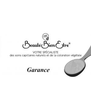 GARANCE EN POUDRE D'INDE 100% NATURELLE BBE BEAUTE BIEN ETRE 50 G