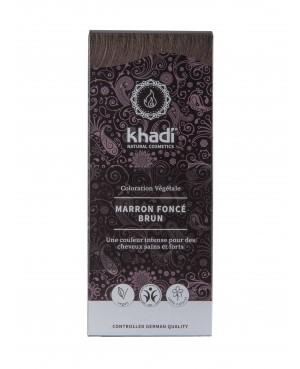 COLORATION VEGETALE KHADI MARRON FONCE