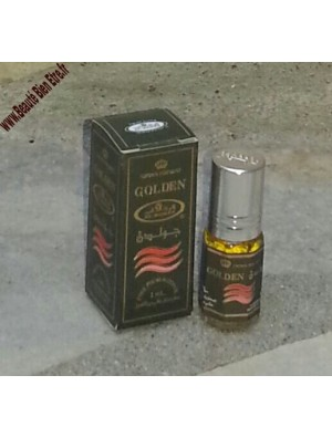 GOLDEN AL-REHAB (HOMME) PARFUM DE POCHE CONCENTRE & SANS ALCOOL D'ARABIE SAOUDITE 3 ML