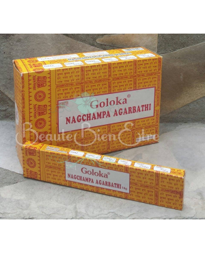 ENCENS INDIEN GOLOKA NAG CHAMPA AGARBATHI