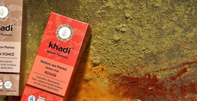 Colorations Végétales KHADI Bio