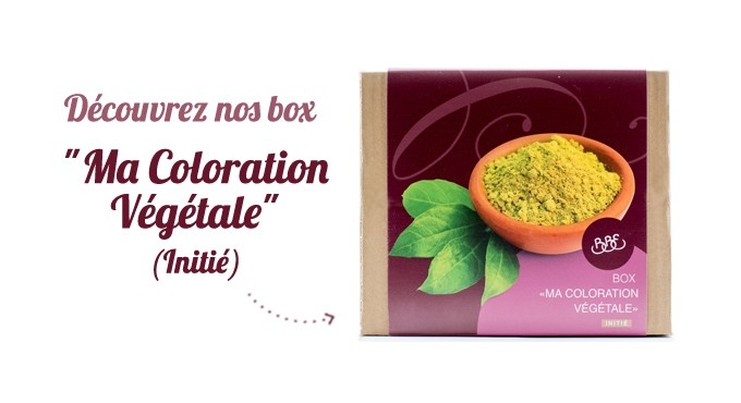 BOX COLORATION VÉGÉTALE BBE