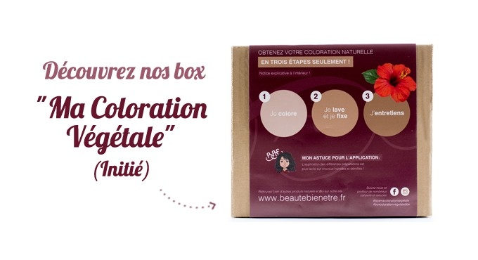 BOX COLORATION VÉGÉTALE BBE