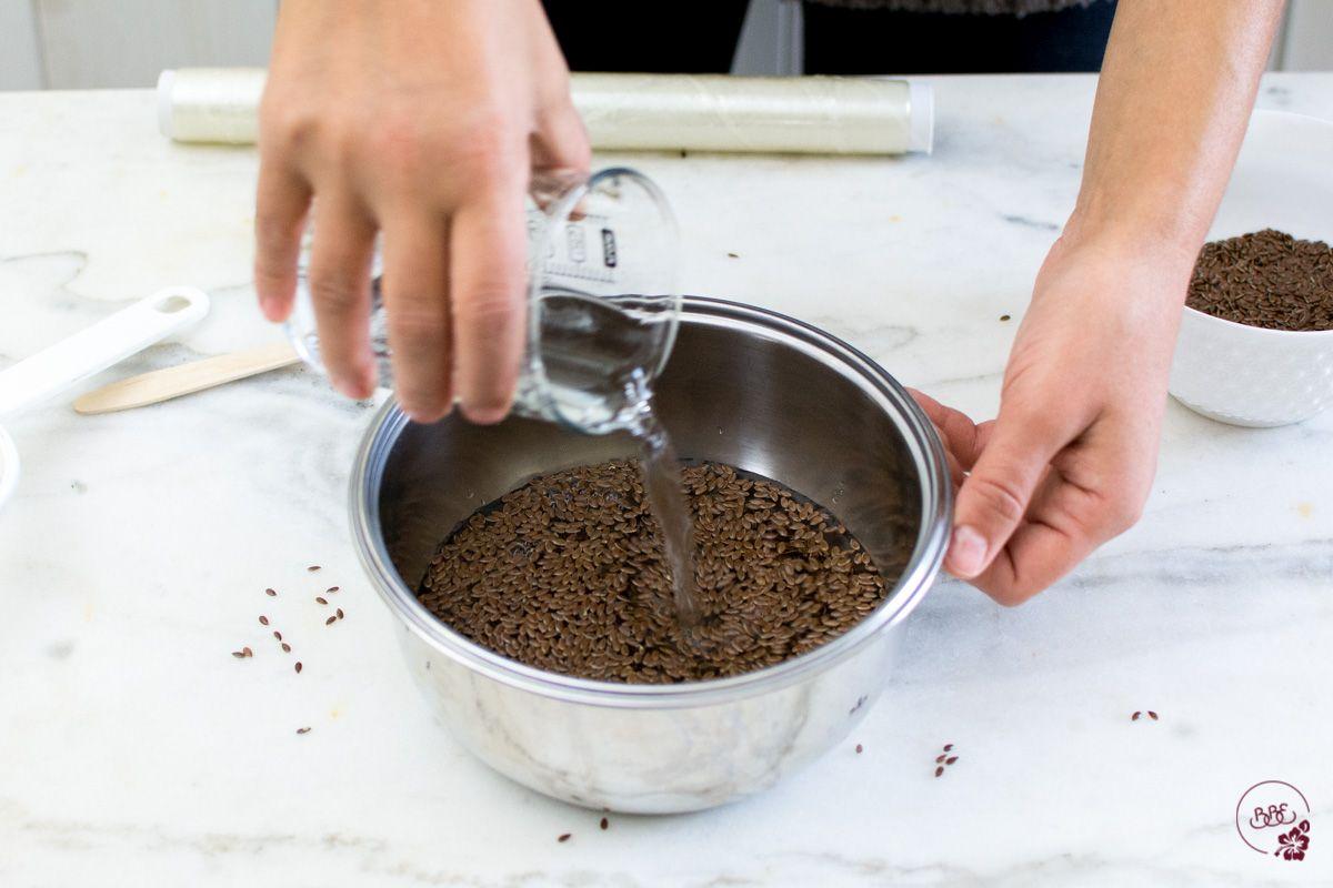 comment faire du gel de lin maison