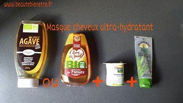 le meilleur masque hydratant maison pour cheveux secs et deshydrates